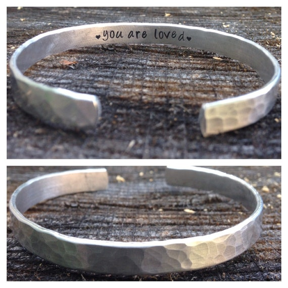 You Are Loved, inspirational bracelet, Motivational bracelet