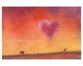 Valentine Card, Funny Animal Bunny Rabbit Valentines Day Card, Valentines Day Card, Humorous Valentine Card