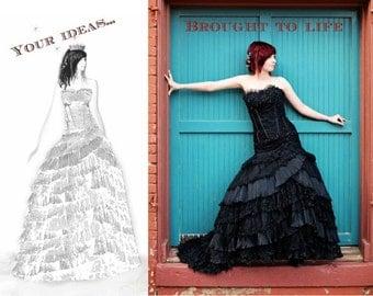 Custom Wedding Dress and Design Your Own Wedding Dress from Award Winning Designer in Teaneck, NJ