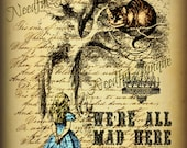 We'Re ALL MaD HeRe - ALTeReD ArT - MiXeD MeDia CoLLaGe
