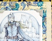 SHIELDMAIDEN Fantasy Greeting Card / Handmade Greeting Card / Inspired by Lord of the Rings / Medieval