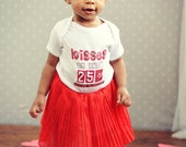 Kisses on sale 25 cents only on Valentines Baby bodysuit