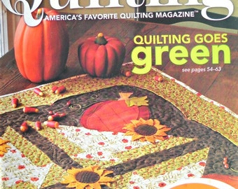 Fons and Porter's Love of Quilting Magazine, September/October 2008 Issue
