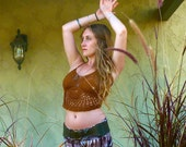 SALE Crochet Top - Constellations. Festival Top. Hippie Style. Hippie. Halter Top. Hula Hoop. Festival Style. Burning Man. Gypsy. Handmade