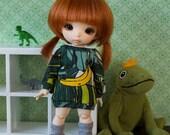 Jungle BANANA - Sweater dress for PukiFee / Lati-Y
