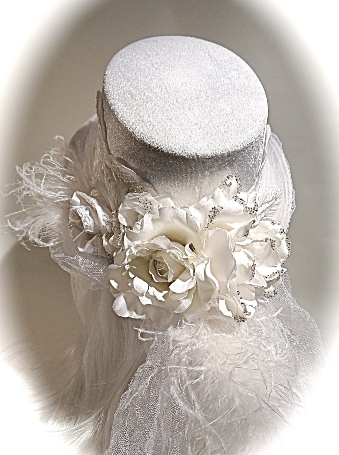 Bridal top hat wedding accessories womens hats bh 110 for Dress hats for weddings