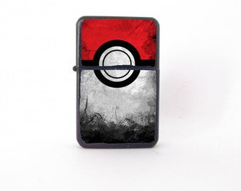 Pokemon lighter, pop art lighter, Pokemon collectable, Pokemon Go, cool lighter, custom lighter, Pokeball lighter, Pokemon ball lighter