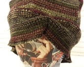 Upcycled Sweater Knit Slouch Hat