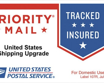 USPS US Flat Rate Priority Shipping Upgrade - United States Customers only