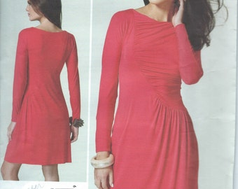 UNCUT Dress Sewing Pattern Vogue American Designer Tom & Linda Platt V1283 Size 6-8-10-12-14