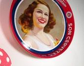Vintage Son Cervezas Modelo Corona Extra Victoria advertising Beer Serving Tray