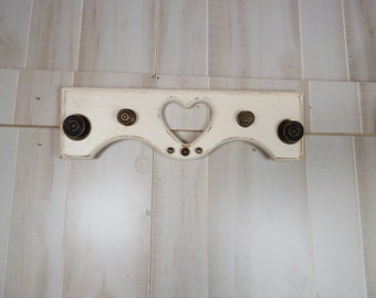 SALE Architectural Salvage Jewelry Scarf Coat Rack  Vintage