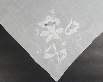 Vintage Madeira Handkerchief