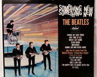 Beatles Record - Something New - 1964 / 1976 LP - Vintage Vinyl Album on Apple Records
