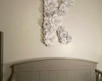 Giant Paper Flower Letter