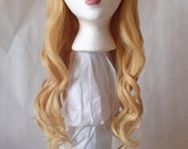 Blonde Curly Cosplay Wig
