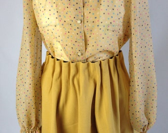 yellow candy blouse