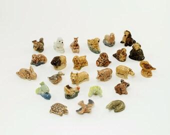 Red Rose Tea Animals, Red Rose Tea Figurines, Wade Figurines,Wade Whimisies, Red Rose Collectibles, Collectible Figurines, Animal Figurines