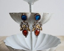 Samantha Statement Earrings - Multicolored