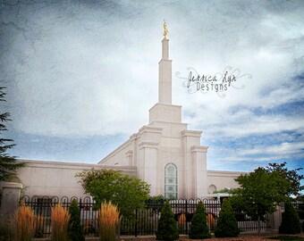 Albuquerque New Mexico LDS Temple Print