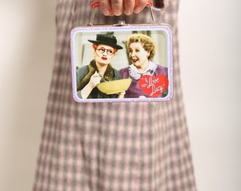 "Vintage ""I Love Lucy"" lunch box collectible"