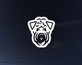 Soft Coated Wheaten Terrier Dog Vinyl Decal   Car Sticker, Decoration   25 & Co