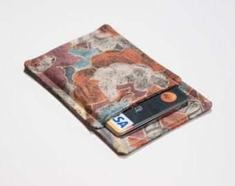 Minimalist wallet - Business card holder - Business card case - Thin wallet - Slim card wallet - Square card case - Men and Women - OOAK