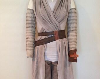 Custom Rey Star Wars Rey The Force Awakens Belt (belt only) Costume Accessory