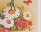 Soviet Jiminy Cricket birthday card - new baby card - wedding card - graduation card - 1989