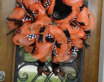 Orange Halloween Witch