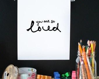 Kid print, nursery print, nursery art, wall art, home decor,happy print, kid room decor, baby room decor, minimalist print, printable art