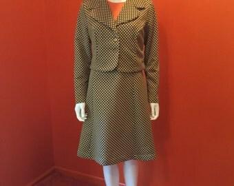 1970's Vintage Dress Jacket Combo Platter