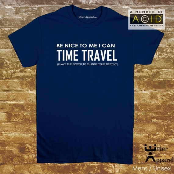 Dr Who shirt Gift, Dr fan gift, Time Travel, present for man, boyfreind, girlfriend, woman, girl or husband
