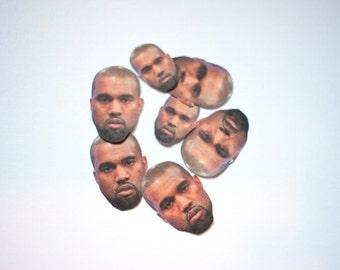 TINY Unimpressed Kanye Stickers