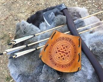 Celtic Archery Arm Guard-Bracers