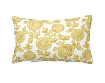 7 Sizes Available: Yellow Throw Pillow Cover Yellow Pillow Cover Decorative Pillow Yellow Cushion Cover Yellow Lumbar Pillow 12x24 Pillow