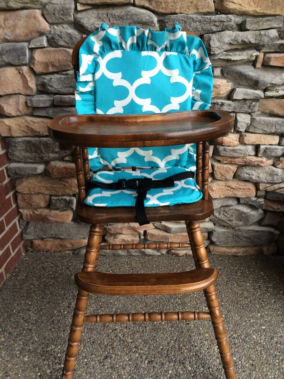 high chair cover high chair pad high chair cushion wooden