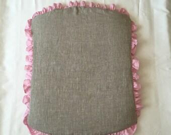Stokke Sleepi changing pad cover /// Natural linen changing pad cover for Stokke Sleepi station, Crib bedding, Nursery bedding, Cot bedding