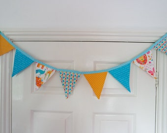 Animal Bunting - Children's Bunting - Bright - 8 Flags
