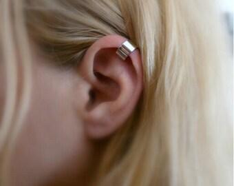Ear Cuff, Silver Ear Cuff, Gold Ear Cuff, Wide Ear Cuff,Boho Jewelry, Birthday Gift