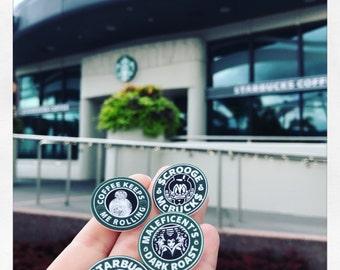 Starbucks Disney inspiré des épingles / préféré personnages / café / broche / pin / kawaii