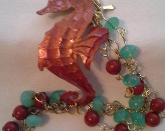 Rusty The Seahorse Bracelet B  110