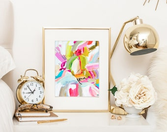 Abstract prints, Large Wall Art Print Watercolor Abstract painting Poster Gift Home Decor Birthday gift for her  Wall Decor