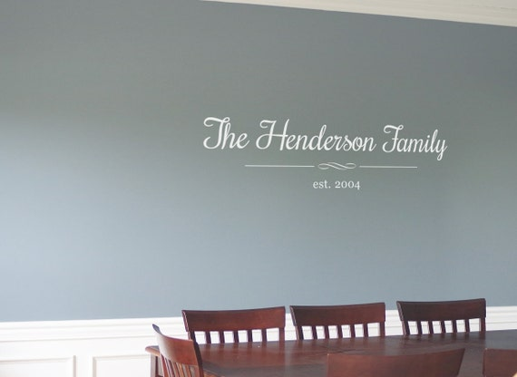 Apartment Foyer Quotes : Living room wall decal family dining