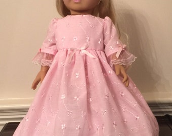 "Pink fancy dress for 18"" Doll"