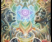 "Prints on Paper - ""The One Eye Love"" by Ishka Lha"