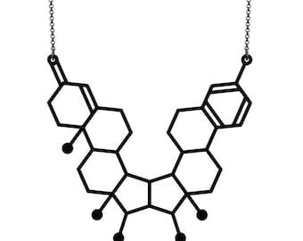 Gender Necklace - Matte Black