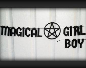 Customisable Magical Girl / Magical Boy Letter Banner Garland