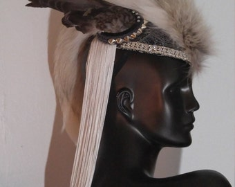 Diamonds in the Sky Mohawk Headdress