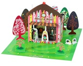 Hansel & Gretel Paper Theater - DIY Paper Craft Kit - Kids Craft Kit - Puppets - Paper Toy